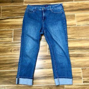 NYDJ Boyfriend Crop Jeans